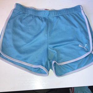 Blue Puma Shorts